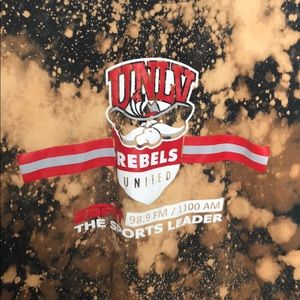 Other - UNLV Custom bleached t-shirt